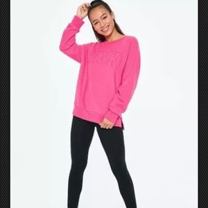 VS PINK Legging Crew & Cotton Legging Gift Set